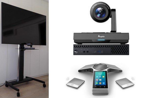 Videokonferenzsystem mit PTZ Kamera